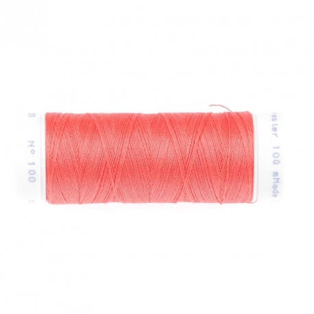Fil polyester 100m rose n°220 hot coral