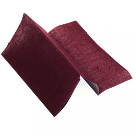 Toile thermocollante - Rouge bordeaux