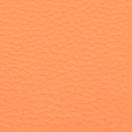 Coupon simili cuir uni orange - 60 x 70 cm