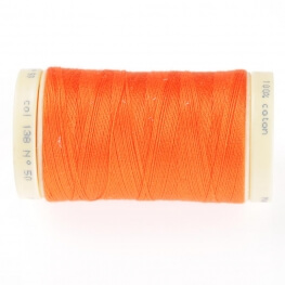 Fil coton 445m - Orange carrot