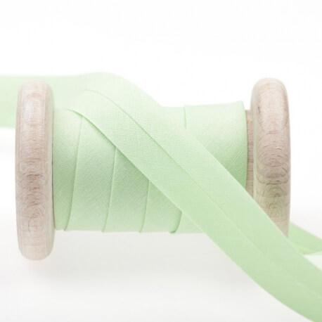 Biais uni au mètre - Vert pistachio