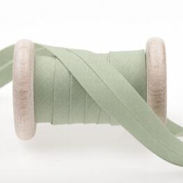 Biais uni au mètre - Vert fern