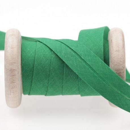 Biais uni au mètre - Vert jolly