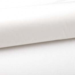 Tissu popeline coton unie blanc cassé