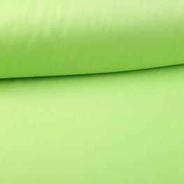Tissu popeline coton unie vert spring