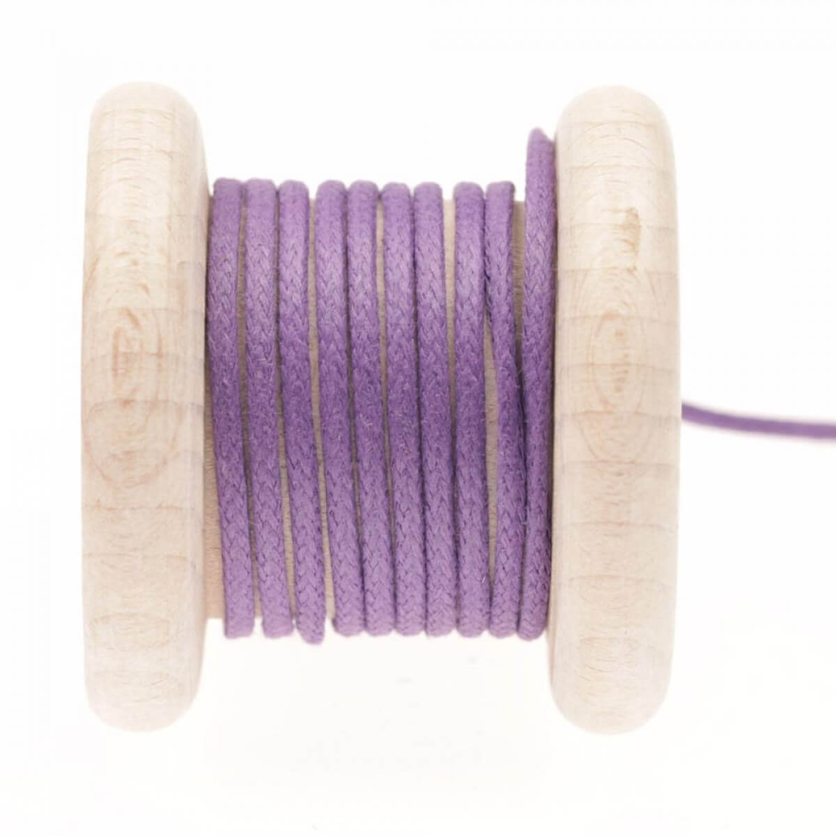 lacet aspect cuir au m tre violet heart mercerie car fil. Black Bedroom Furniture Sets. Home Design Ideas