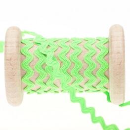Croquet uni au mètre - Fluo vert