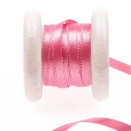 Ruban satin rose shocking pink