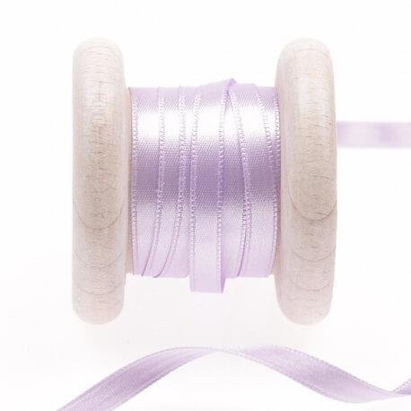 Ruban satin violet pastel lilac