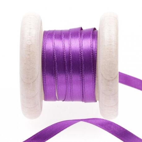 Ruban satin violet tillandsia purple