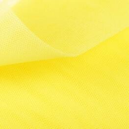Tissu tulle jaune limelight au mètre