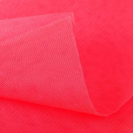 Tissu tulle rouge au mètre
