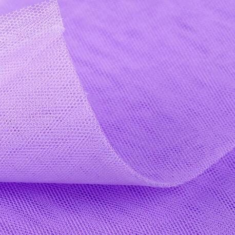 Tissu tulle violet bougainvillea  au mètre