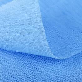 Tissu tulle bleu au mètre