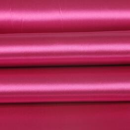 Tissu satin uni - rose cabaret