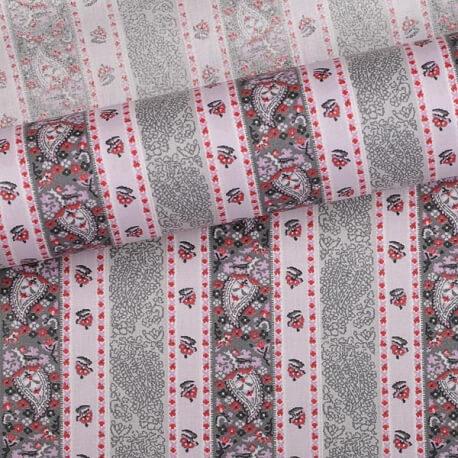 Tissu bandana rose