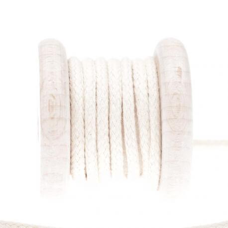 Cordelière passepoil souple coton au mètre - Beige