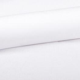 Tissu coton uni blanc