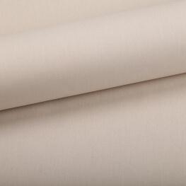 Tissu coton uni beige nougat