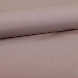 Tissu coton uni beige noix