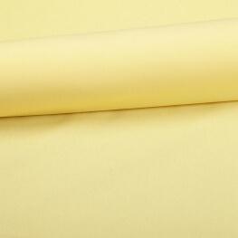 Tissu coton uni jaune banane
