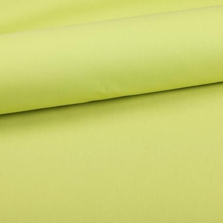 Tissu coton uni vert spring