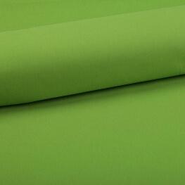 Tissu coton uni vert chartreuse