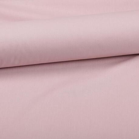 Tissu coton uni rose romantique