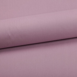 Tissu coton uni rose guimauve