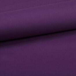 Tissu coton uni violet evêque