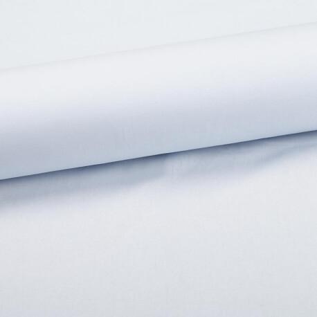Tissu coton uni bleu rivière