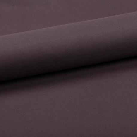 Tissu coton uni gris anthracite