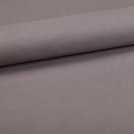Tissu coton uni gris flanelle