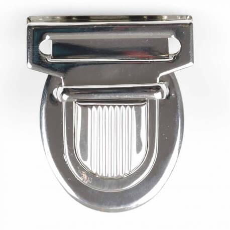 Fermeture cartable classic 40 mm - Argent