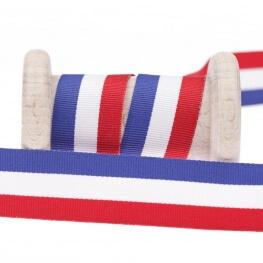 Ruban drapeau français au mètre - 10, 15 ou 25mm