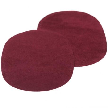 Paire de renforts coudes et genoux - A coudre - Rouge