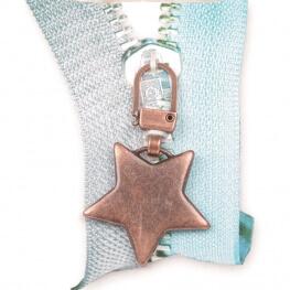 Tirette étoile - Cuivre mat