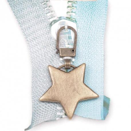 Tirette étoile - Bronze mat
