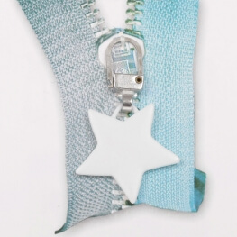Tirette étoile - Blanc mat