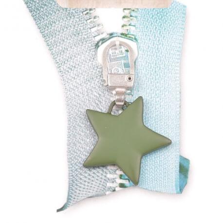 Tirette étoile - Vert kaki mat