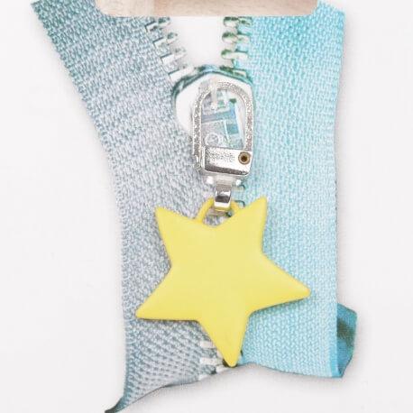 Tirette étoile - Jaune mat