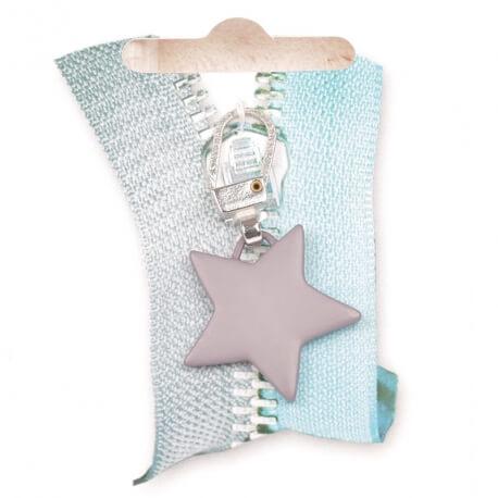 Tirette étoile - Gris mat