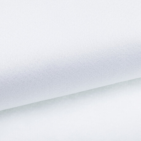 Feutrine à la coupe épaisseur 2mm - Blanc