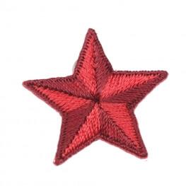 Ecusson étoile - Rouge