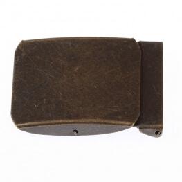 Boucle ceinture 40mm - Laiton antique