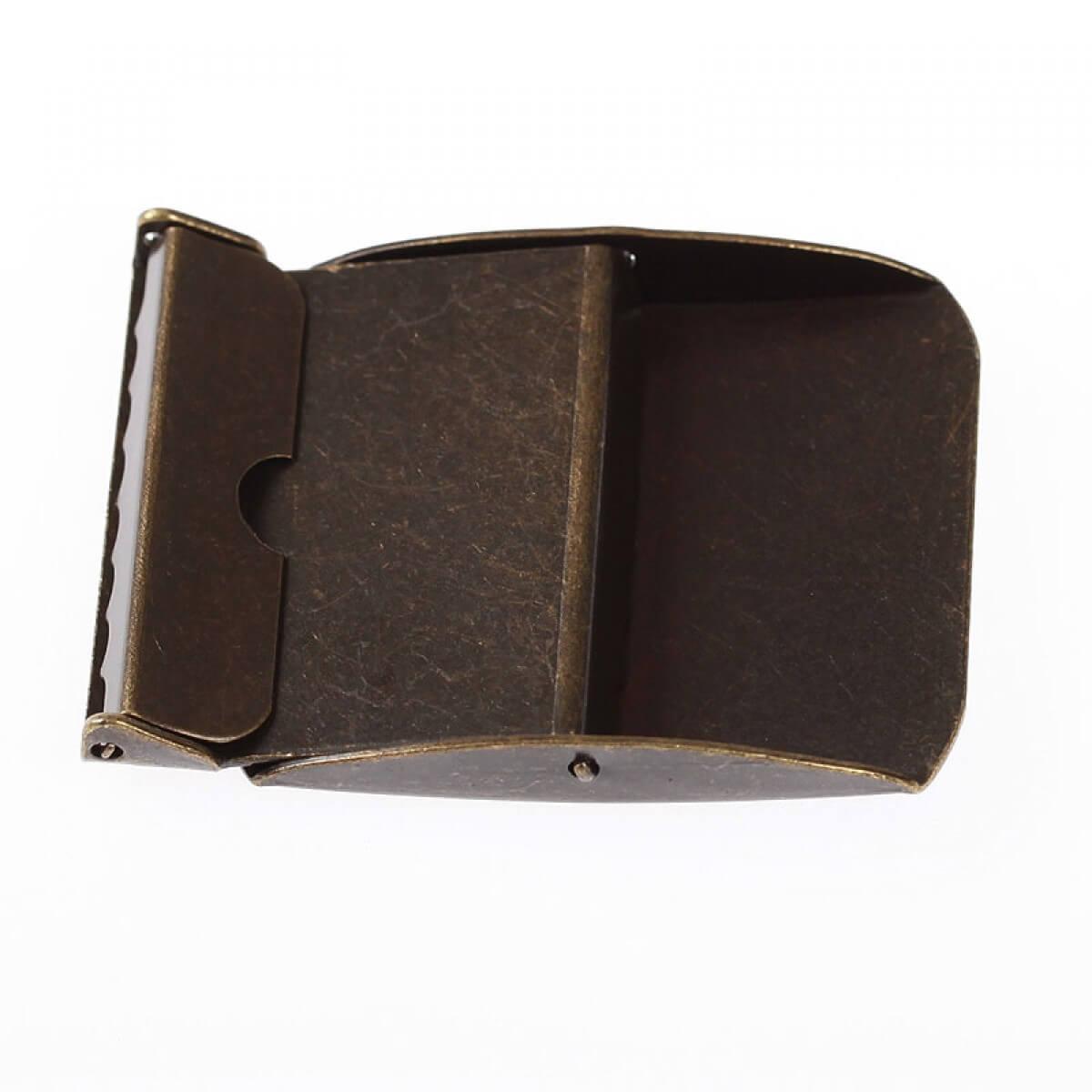 9bfb4690ea8 Boucle ceinture 40mm - Laiton antique - Mercerie Caréfil