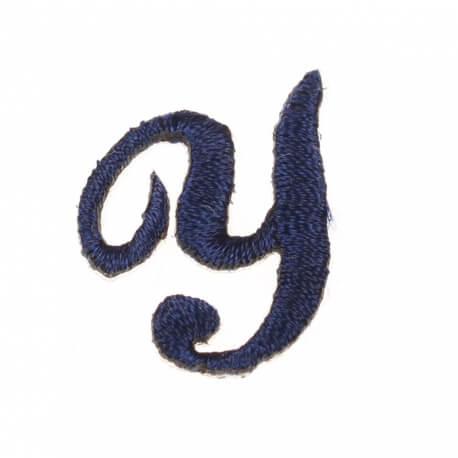 Ecusson lettre Y - Marine