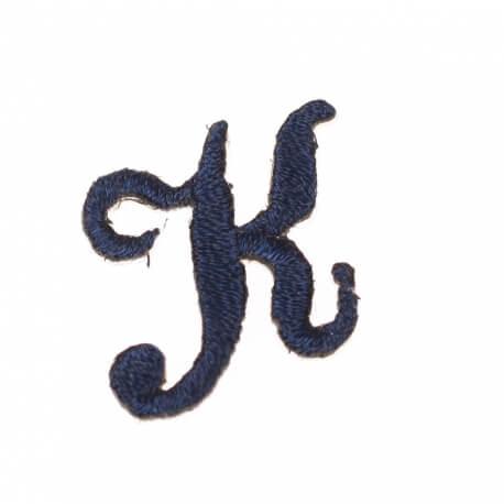 Ecusson lettre K - Marine
