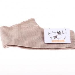 Bord côte ceinture - Beige