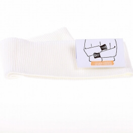 Bord côte ceinture - Blanc